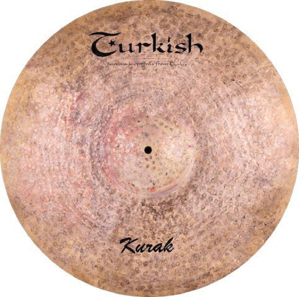 Turkish Cymbals Custom Series 18-inch Kurak Ride * K-R18 B073T4V8MR