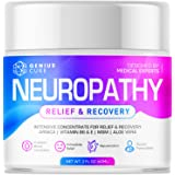 Neuropathy Nerve Pain Relief Cream - Maximum Strength Relief Cream for Foot, Hands, Legs, Toes Includes Arnica, Vitamin B6, A