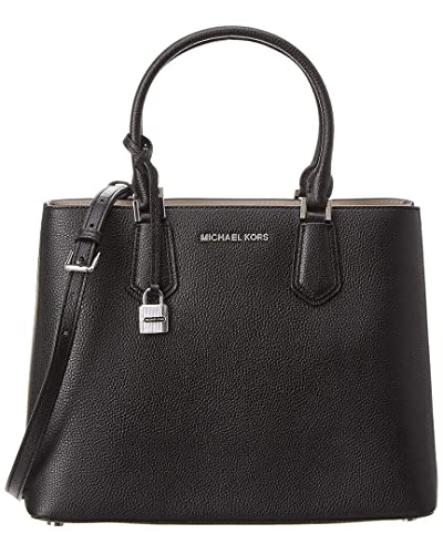 4a6808543c5e Michael Kors Adele Large Leather Satchel  Handbags  Amazon.com