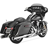Vance & Hines Monster Rounds Slip Ons Chrome