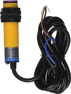 2m retroreflective photoelectric switch w reflector panel dc 3 wire 6 36v pnp ir photoelectric sensor switch 30cm e18 b03p1