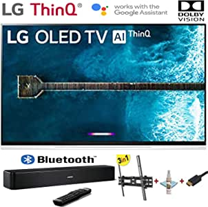 "LG Electronics OLED65E9PUA E9 Series 65"" 4K Ultra HD Smart OLED TV (2019) w/Bose Solo 5 TV Sound System w/3 in 1 Wall Mount kit- Wall Mount, HDMI Cable, TV Cleaning Kit - LG Authorized Dealer"