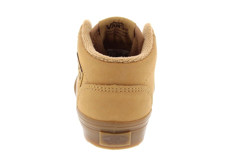 74c33dabb4 VANS Kids - Sneaker HALF CAB vansbuck light gum  Amazon.co.uk  Shoes   Bags