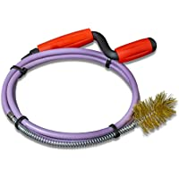 Nirox buisreinigingsspiraal 8mm x 1,4m - buisspiraal met vaste draadborstel - ontstoppingsveer met rubbermantel…