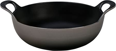 Le Creuset of America Enameled Cast Iron Balti Dish, 2-Quart, Oyster