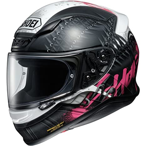 Shoei NXR Seduction Motorcycle Helmet XXS Black Pink (TC-7)