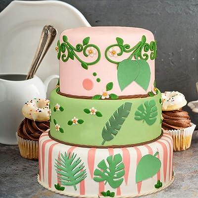 Tropical Tree Silicone Cake Fondant Mold Sugar Craft Decor Chocolate Mold MA