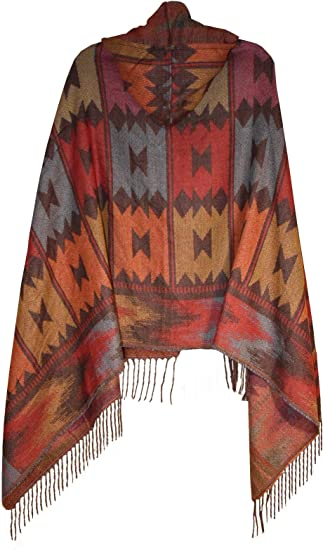Women/'s Ladies New Knitted Cape Blanket Winter Wrap Poncho open Front Shawl Wrap
