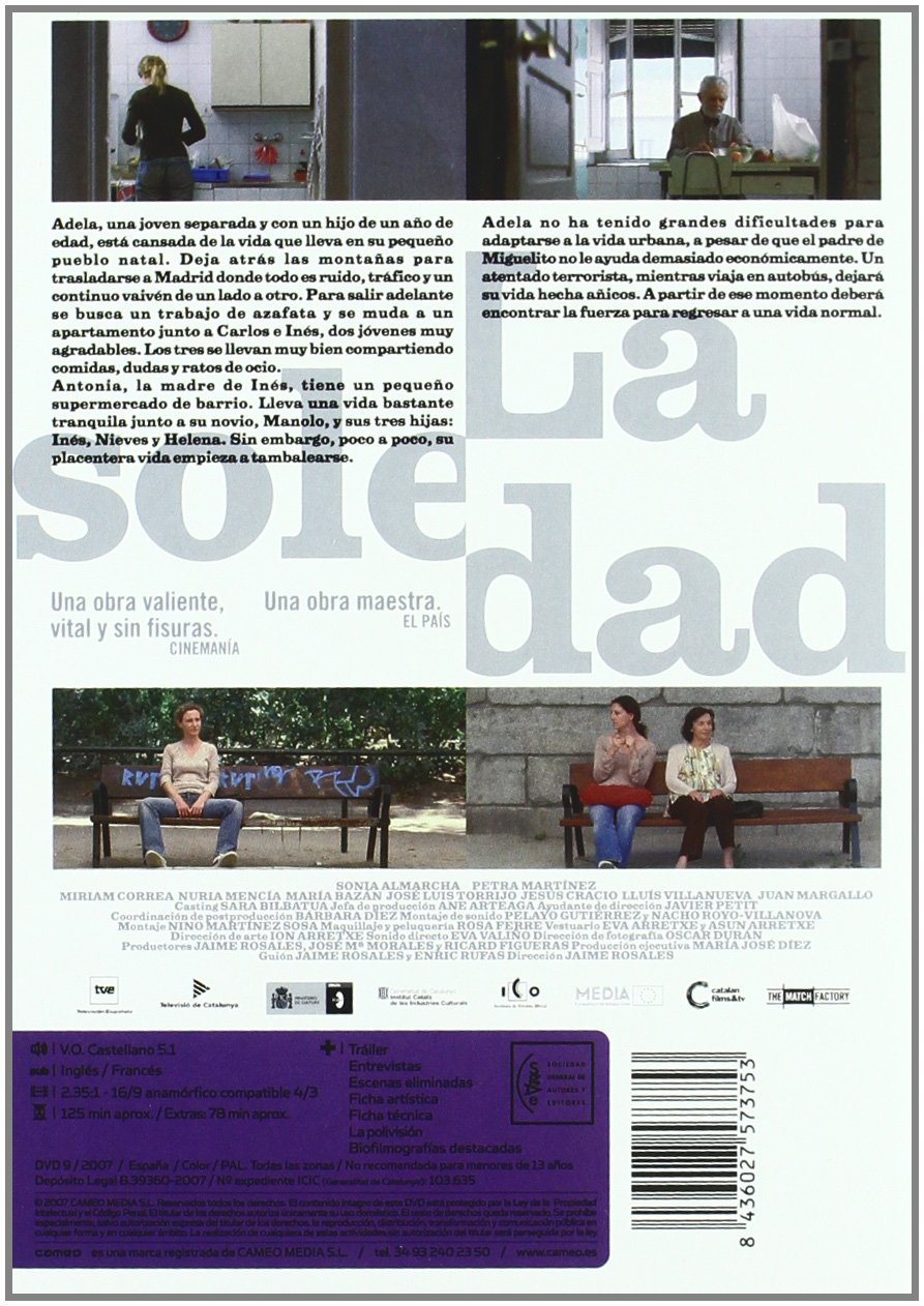 Amazon.com: Solitary Fragments (La Soledad)  [ NON-USA ...