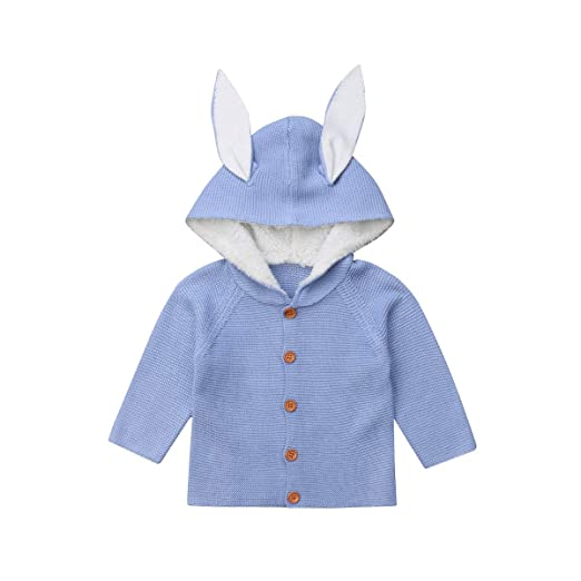 d7c43ea80b40 Amazon.com  Newborn Baby Girl Boy Long Sleeve Knitted Sweater ...