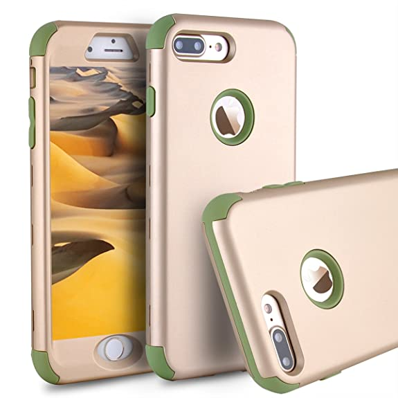iphone 8 shockproof case green
