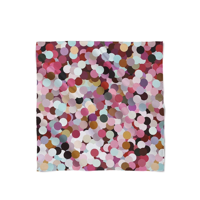 Girly Confetti Satin Style Scarf