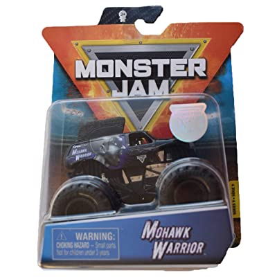 MonsterJam 1:64 Scale Mohawk Warrior: Toys & Games