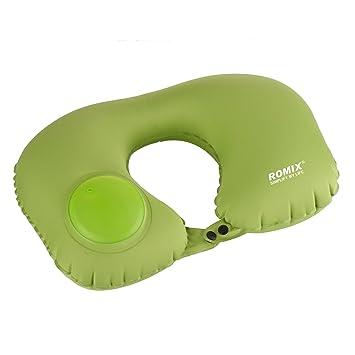 Amazon.com: ctrinews auto-inflating almohada de viaje, Cool ...