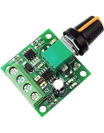 SODIAL Regulador de velocidad del motor de 1.8V 3V 5V 6V 7.2V 12V 2A