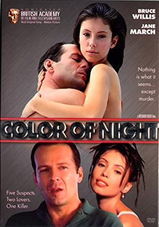 Bruce willis color of night sex