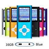 Amazon Price History for:G.G.Martinsen Blue 16GB Versatile MP3/MP4 Player with Photo Viewer, FM Radio and Voice Recorder, Mini Usb Port Slim 1.78 LCD, Digital MP3 Player, MP4 Player, Video Player, Music Player, Media Player
