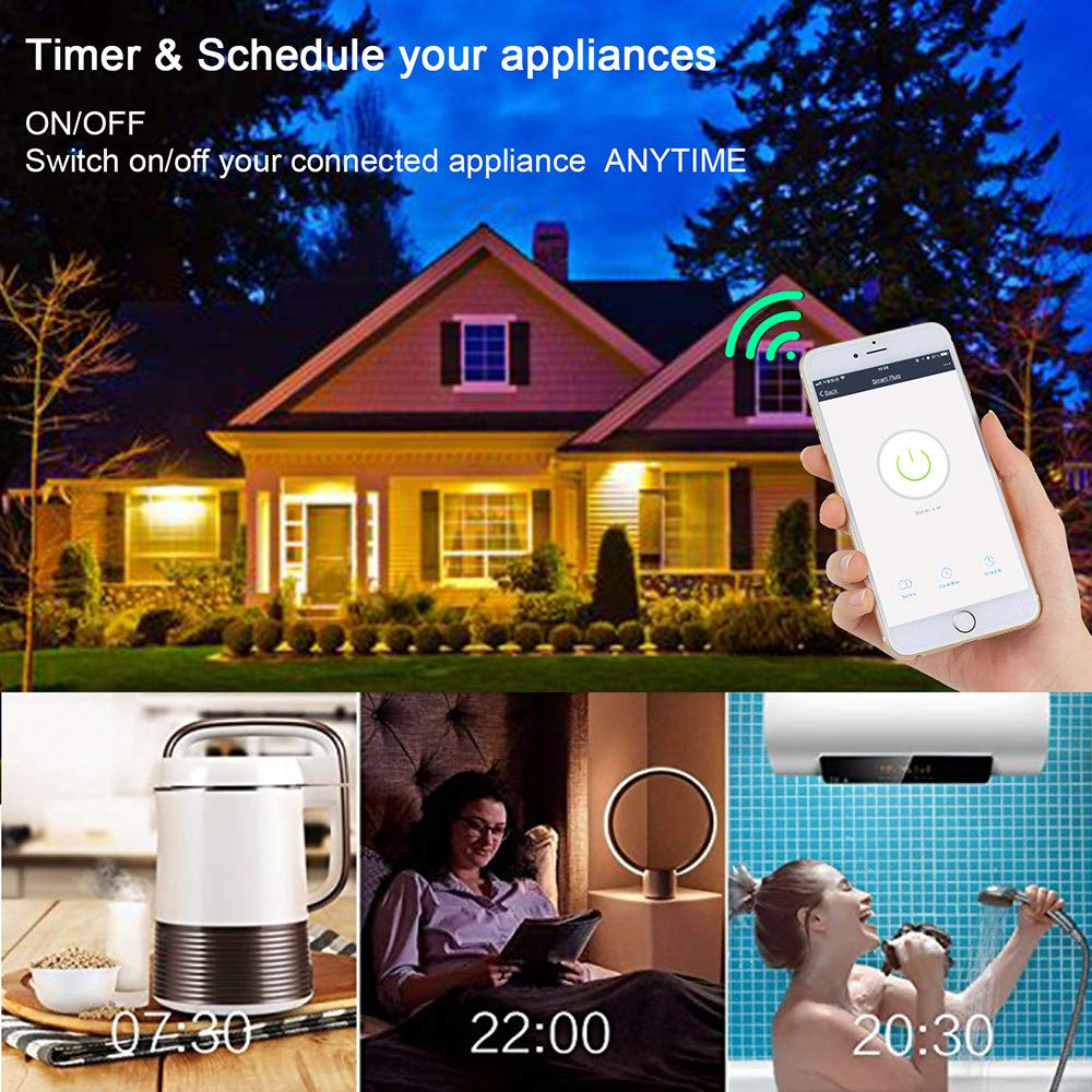 QXWSZ ZóCalo Inteligente WiFi ZóCalo Inteligente Echo Google Home ...