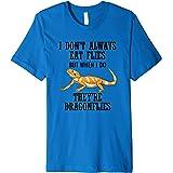 Dragon Flies Bearded Dragon Lizard Reptile Premium T-Shirt