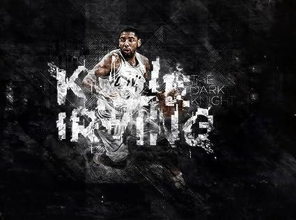 Amazon Com Xxw Artwork Kyrie Irving Poster Basketball Player Ball