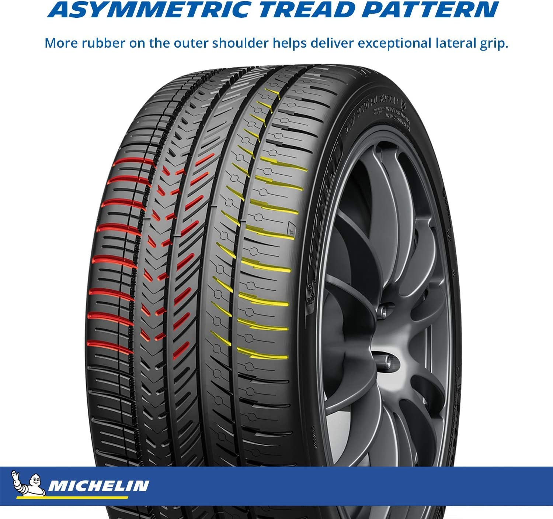 MICHELIN Pilot Sport All Season 4 Performance Tire 235//50ZR18//XL 101Y