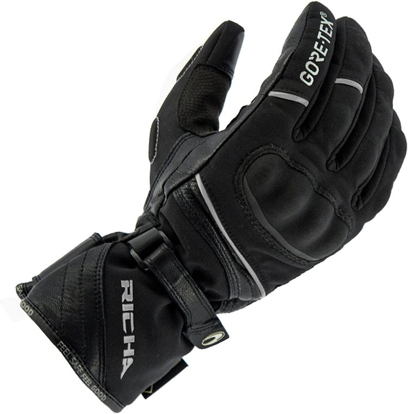 Richa Diana GTX GORE-TEX Leather Textile Ladies Motorcycle Gloves