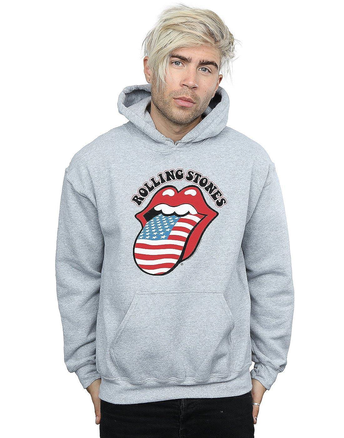 Absolute Cult Rolling Stones Herren American Flag Kapuzenpullover