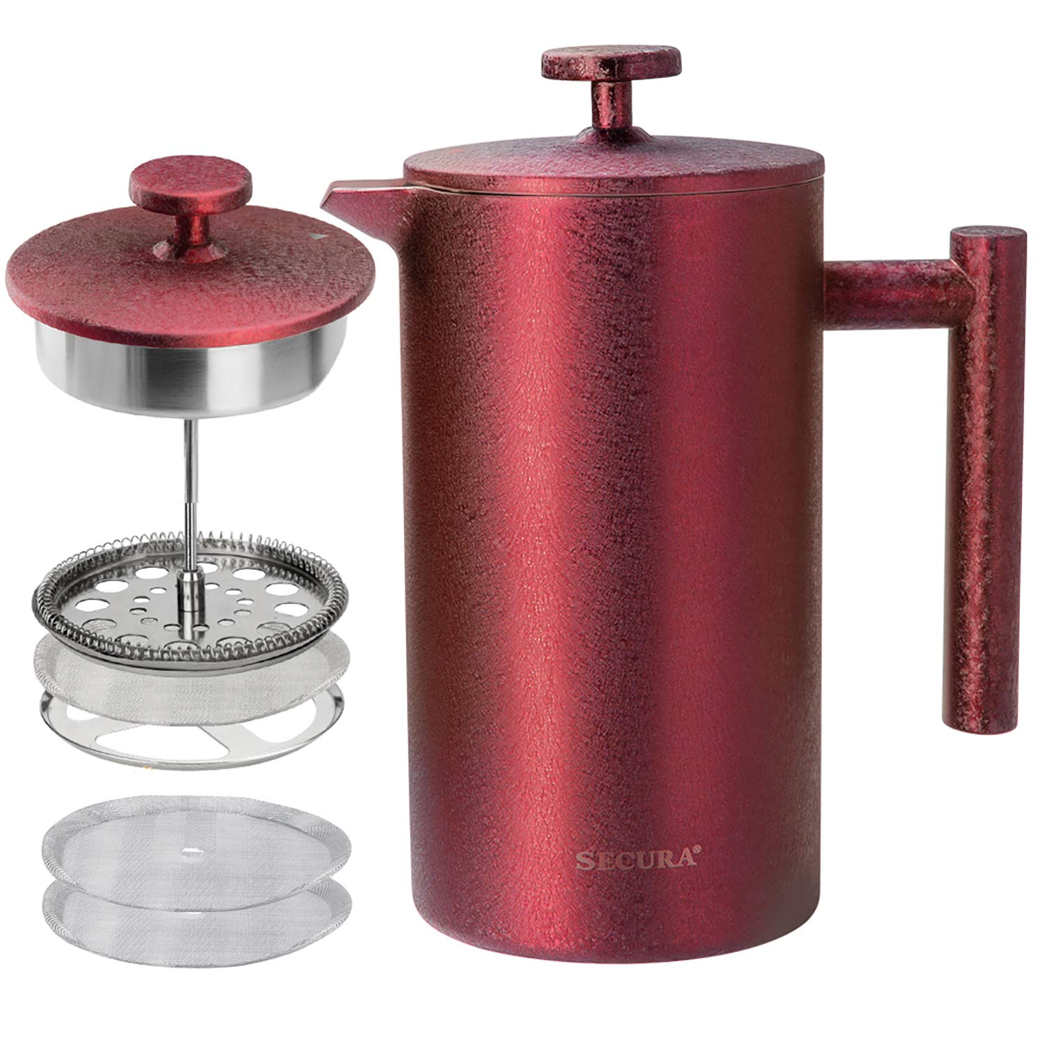 Secura French Press Coffee Maker, 304 Grade