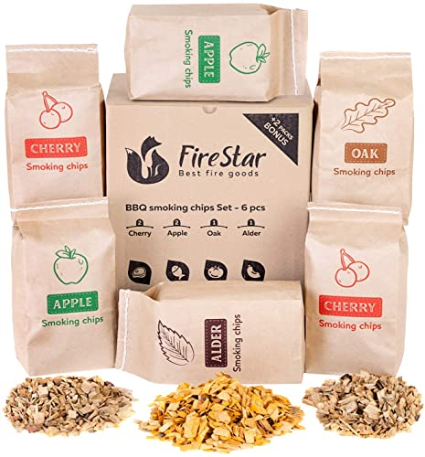 1. FireStar Wood chips for smoking and grilling