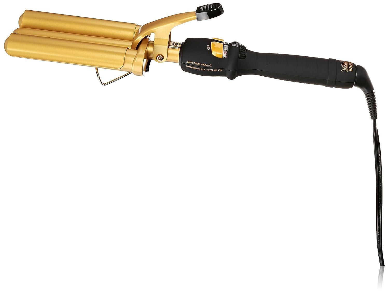 Isinis Isi-331sc Triple Barrel Waving Iron Ceramic, Gold/Black