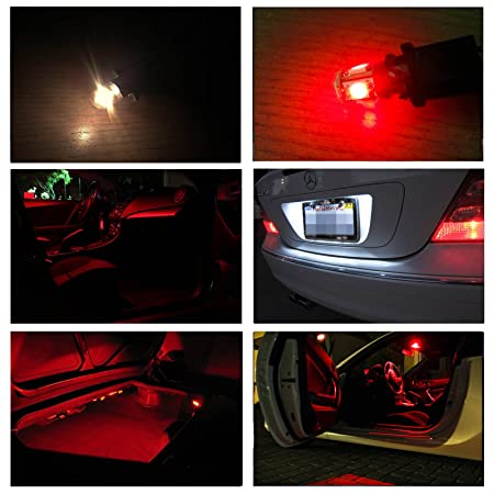 Amazon.com: Mazda RX 8 2004 2011 RED Premium LED Interior Lights Package  Kit (5 Pieces): Automotive