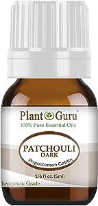 Patchouli Essential Oil (Dark) 5 ml 100% Pure Undiluted Therapeutic Grade.