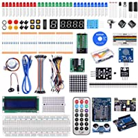 Kuman Compatible with Arduino Project Complete Starter Kit with Detailed Tutorial and Reliable Components for R3 Mega 2560 Robot Nano breadboard Kits