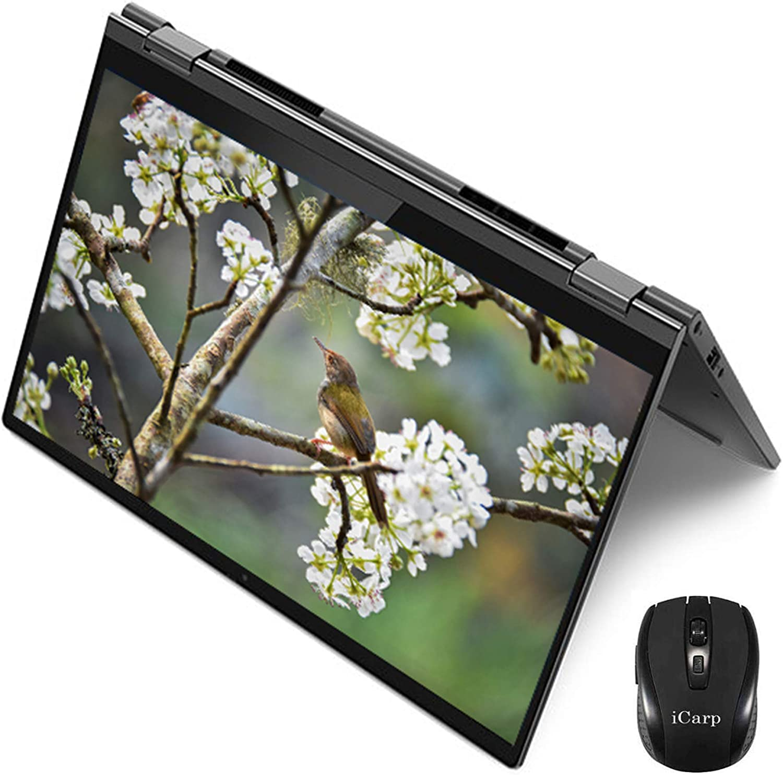 "2020 Flagship Lenovo Yoga C640 2 in 1 Laptop Computer 13.3"" FHD IPS Touchscreen 10th Gen Intel Quad-Core i7-10510U 16GB DDR4 512GB SSD Webcam Backlit Fingerprint Win 10 + iCarp Wireless Mouse"