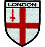 Patch ecusson brode backpack drapeau blason pays armoirie londres london anglais