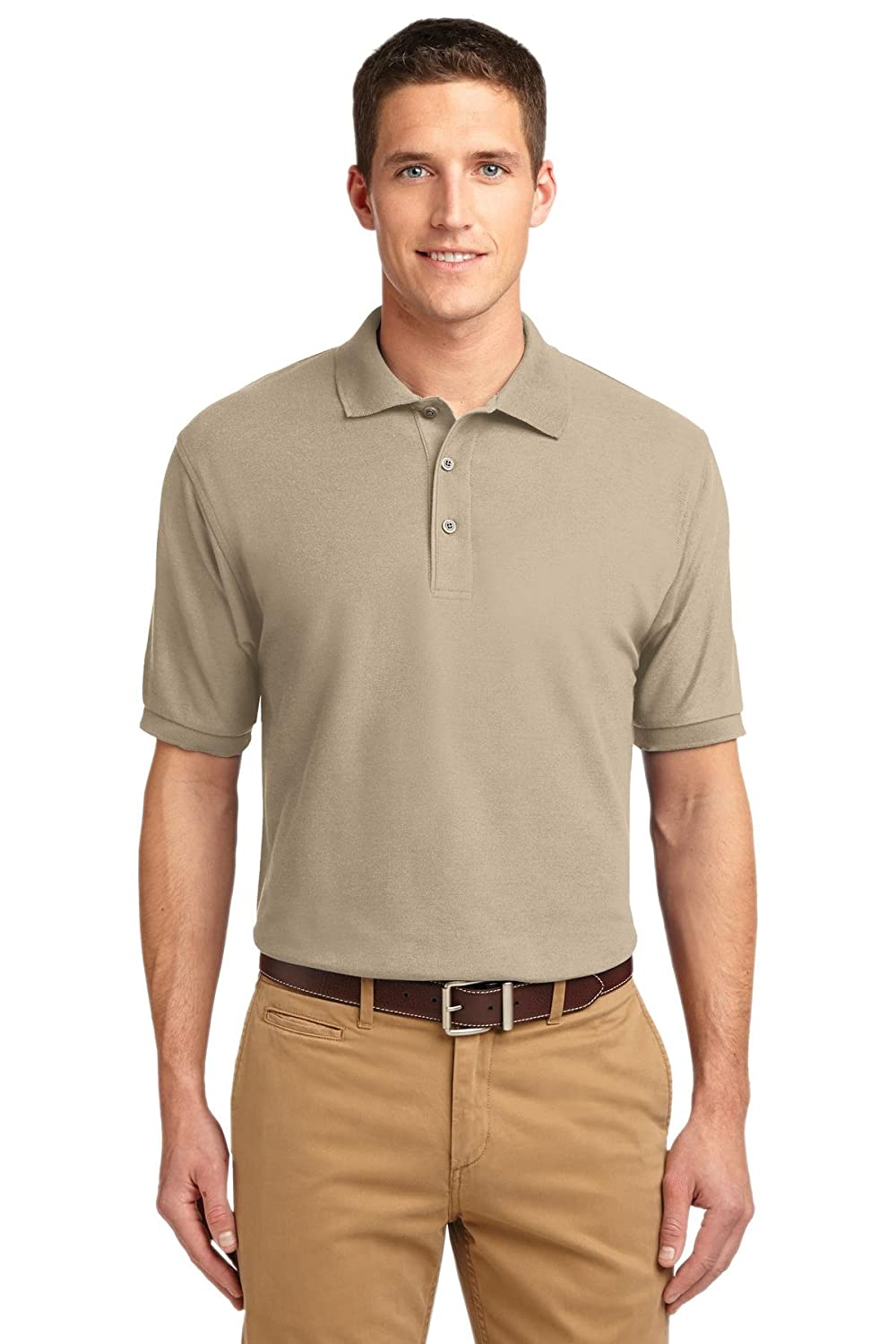 Port Authority Mens Silk Touch Polo