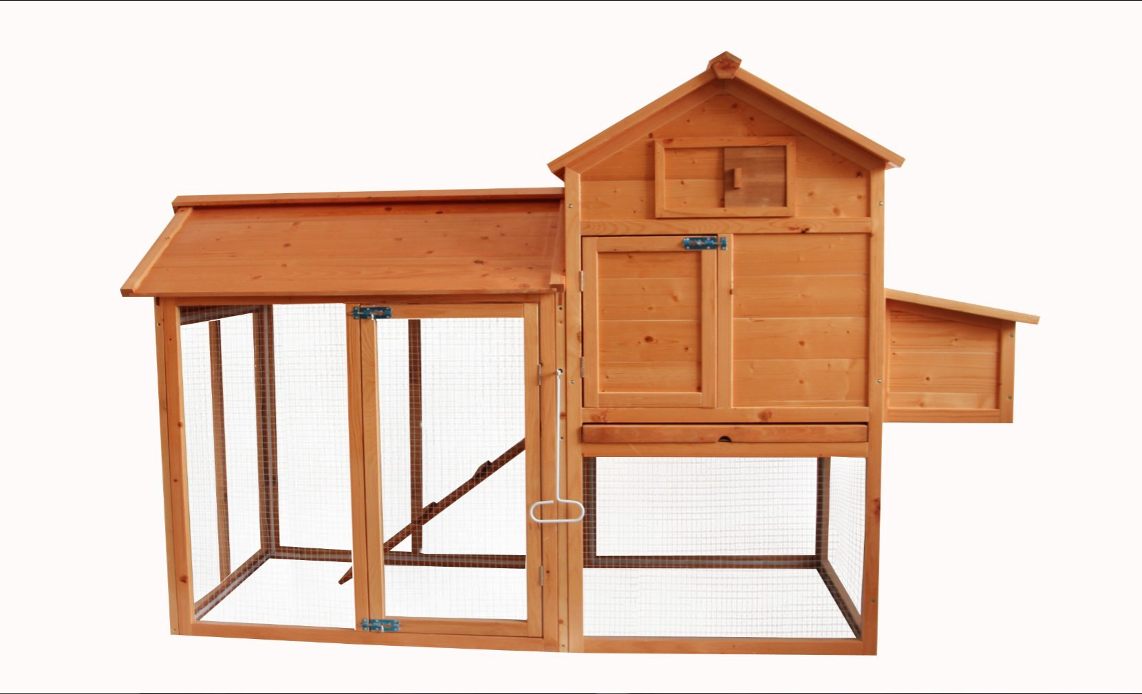 MCombo 0310 Backyard Deluxe Wooden Chicken Rabbit Poultry Coop by MCombo