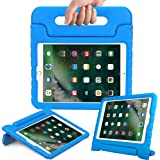 eTopxizu New iPad 9.7 Inch 2018/2017 Case - ShockProof Case Light Weight Kids Case Cover with Handle Stand Case for Apple iPad 9.7 Inch 2018 & 2017 New Model/iPad Air/iPad Air 2 Tablet - Blue
