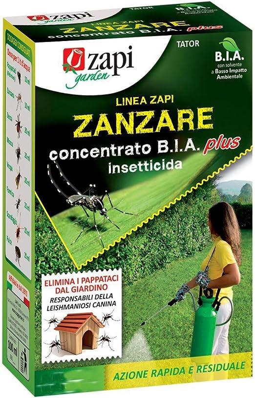 Zapi - Insecticida Concentrado b.i.a Para El Tratamiento Contra Los Mosquitos Tigre. Envase De 250 ml: Amazon.es: Jardín