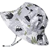 Jan & Jul GRO-with-Me Aqua-Dry Bucket Sun-Hat for Boys Girls, Adjustable Straps, Sun-Protection for Baby Toddler Kids