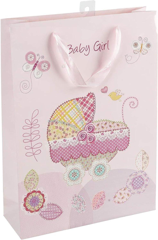 Idena 30210 - Bolsa de Regalo para niña, Color Rosa