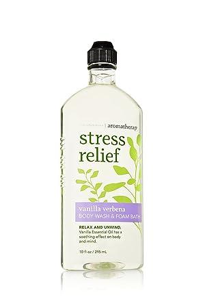 Aromatherapy Body Wash Foam Bath Stress Relief – Vanilla Verbena