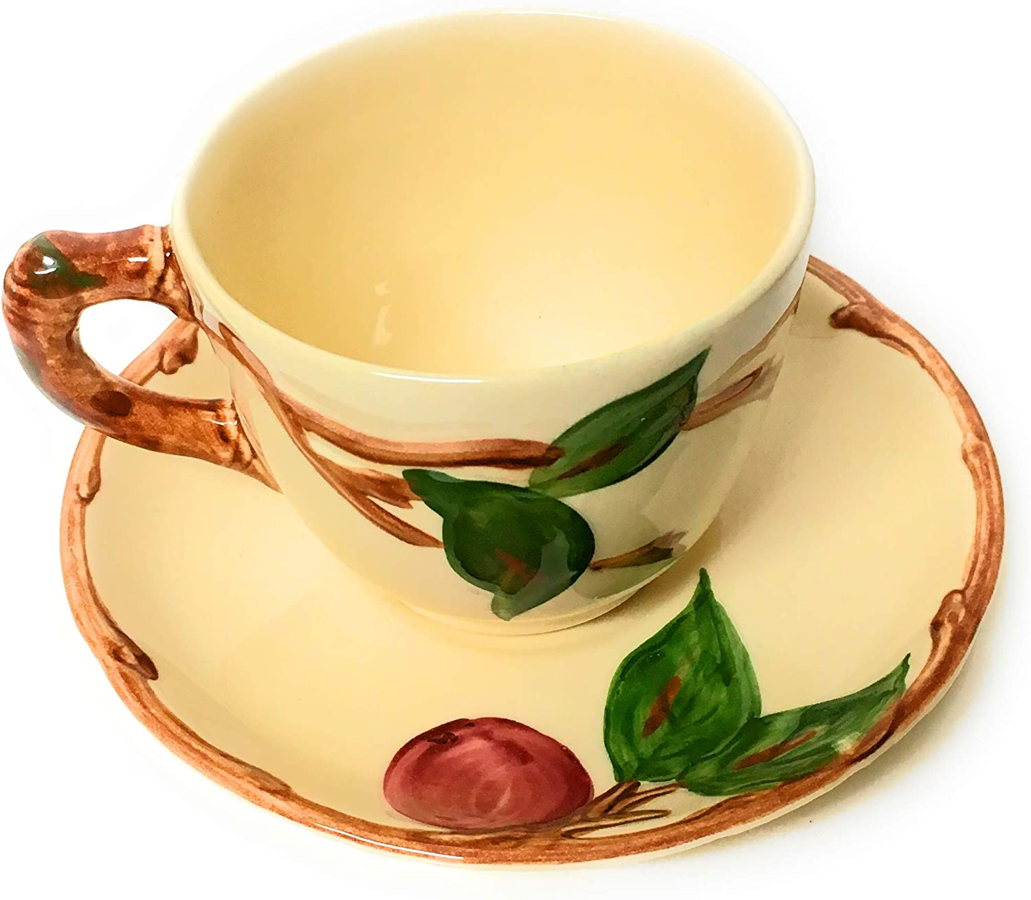 Franciscan Apple - England Cups & Saucers