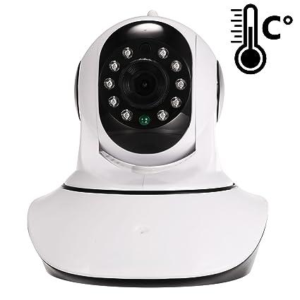 Cámara IP de Videovigilancia Zodikam 100 con sensor de humedad y temperatura integrado. HD,