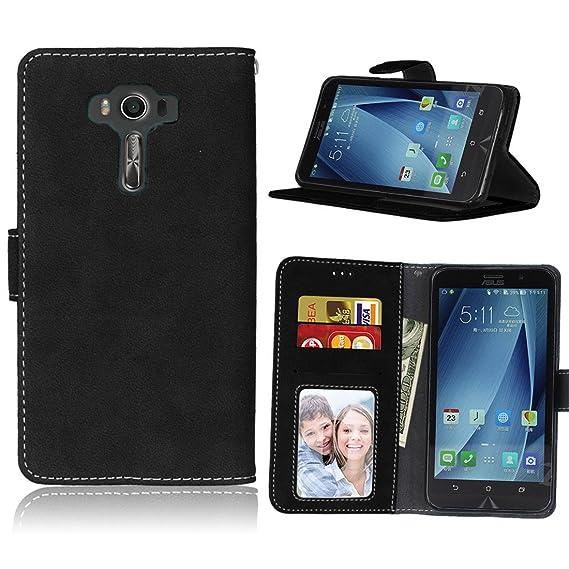 innovative design fb28d 31278 Amazon.com: ASUS ZenFone 3 Deluxe ZS550KL Case, Love Sound [Wallet ...