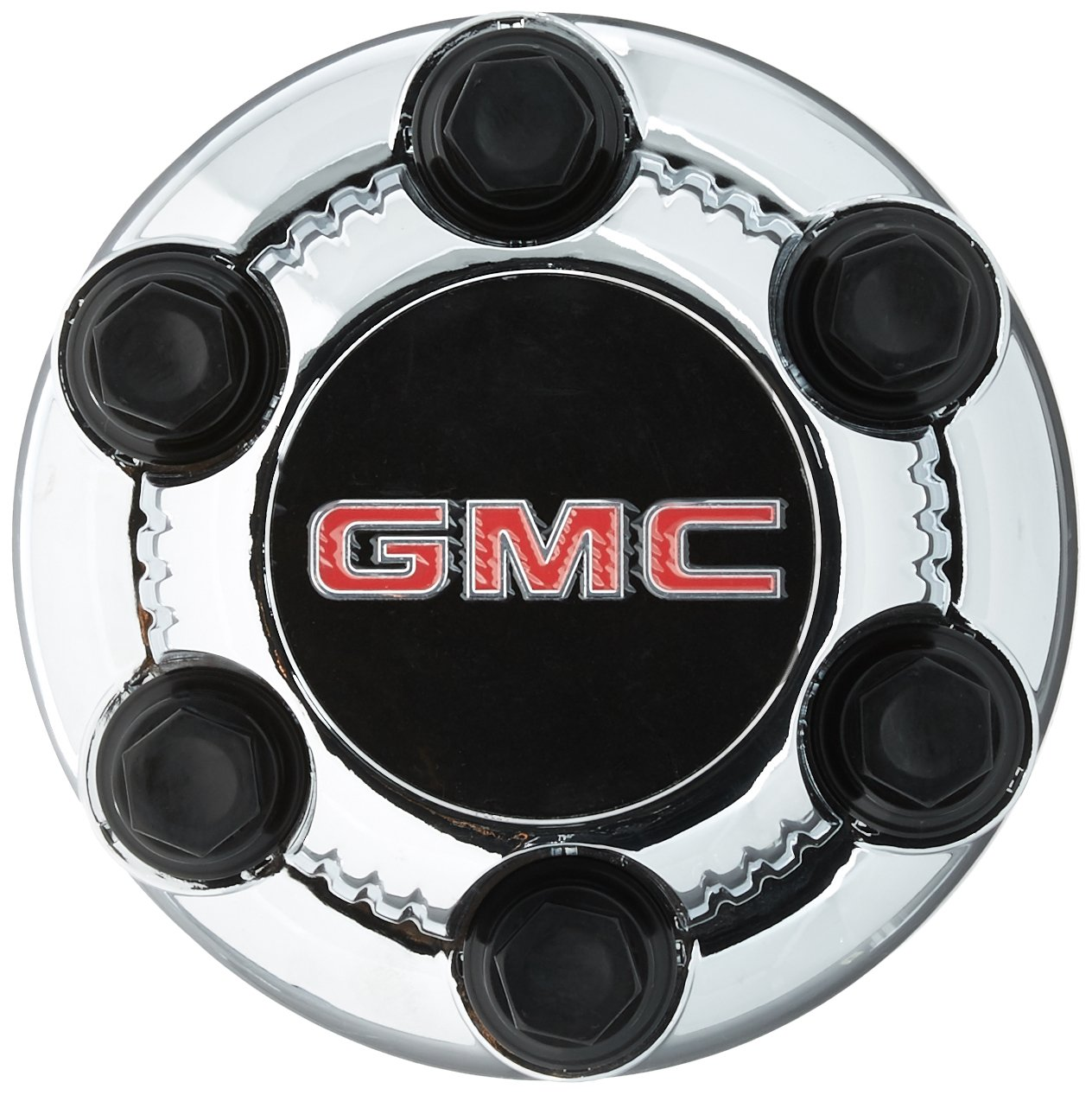 16 17 Inch OEM GMC 6 Lug Chrome Plated Center Cap Hubcap Wheel Rim Cover 1999-2013 1500 Pickup Truck VAN SUV Sierra Savana Yukon 5129 5223 7.25 by GMC General Motors hollander of wheel 5129