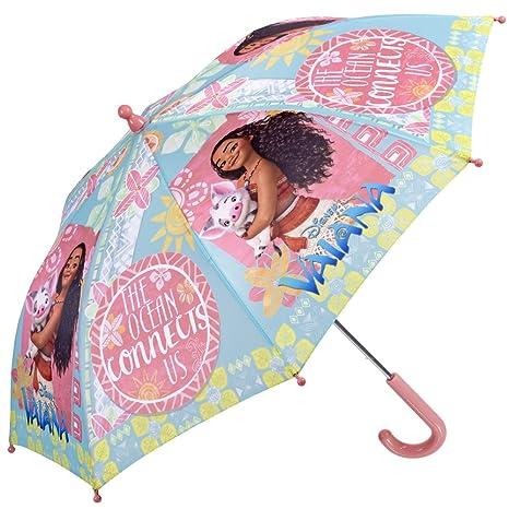 Vaiana Moana Oceania Disney - Paraguas de niña Perletti (Rosa)