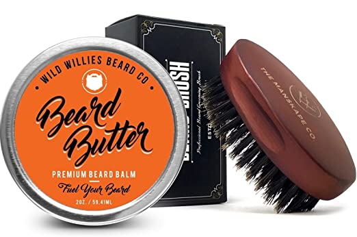Organic Beard Butter Balm - Best Beard Balm