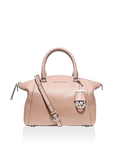 a8a24fb17a86 Michael Kors Riley Small Satchel ballet  Handbags  Amazon.com