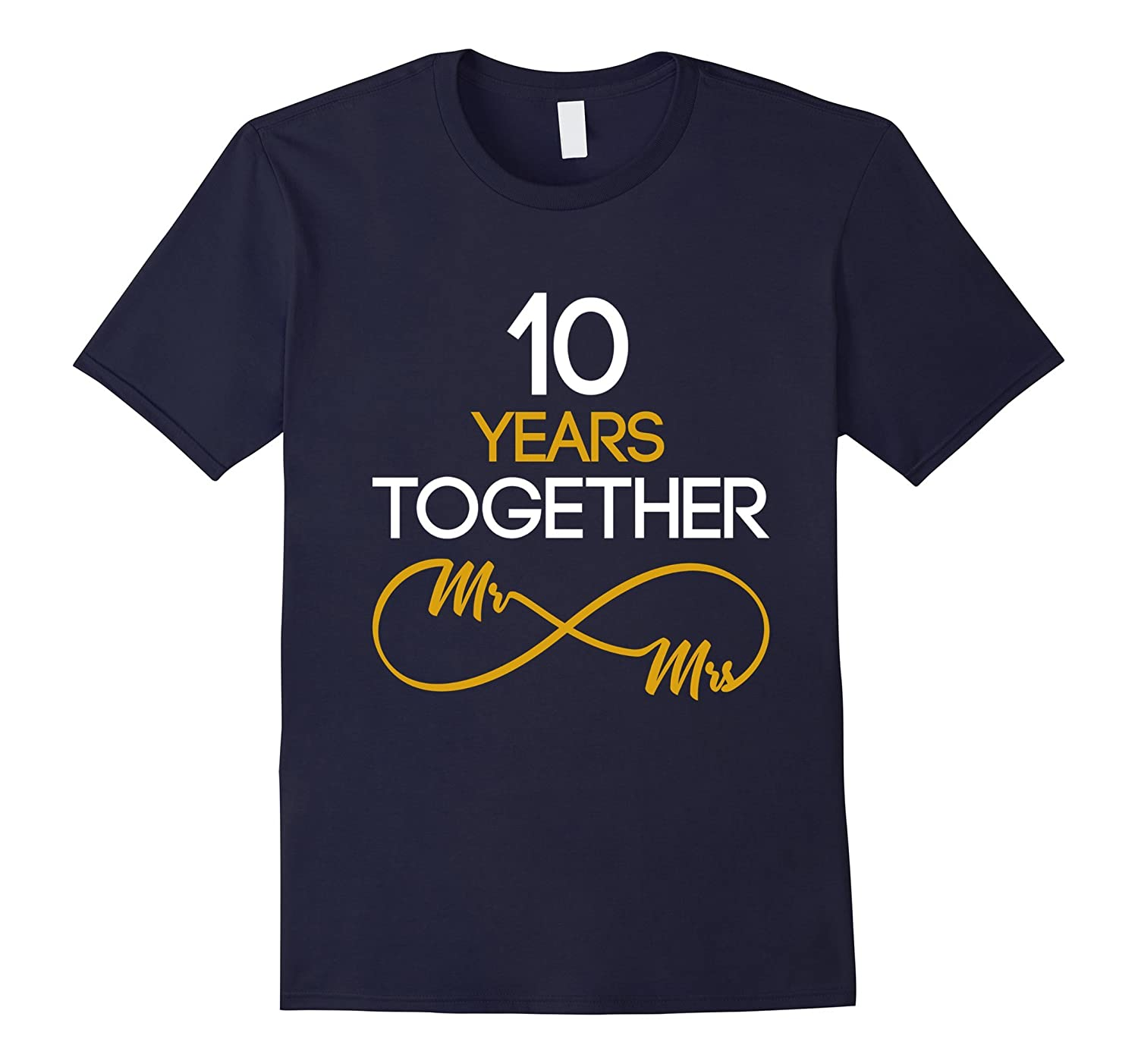 10 Years Anniversary Couples Shirt-Vaci